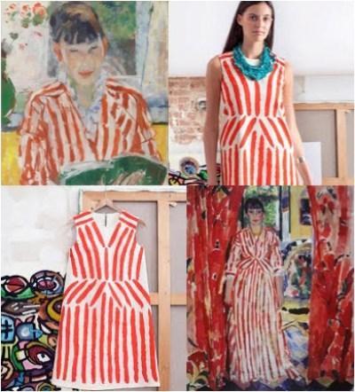 De Nel jurk van het MoMu. Doe-het-zelf design jurk als artsy-cultural product.