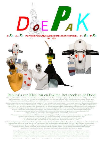 Paul Klee Doepak van het Poppenspelmuseum