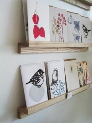 Een kaartenwand is gebruiksvriendelijker voor klanten.