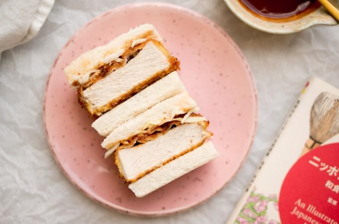 "Katsu sando: Japanese schnitzel on bread ""width = ""1200"" height = ""797"" /> </figure data-recalc-dims="