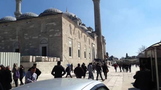 Fatih Camisi Cuma Ezanı