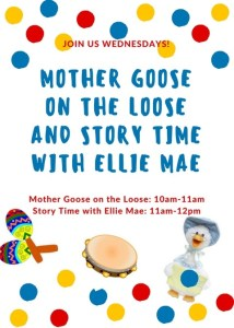 Mother Goose on the Loose! - Story Time @ Cumberland County Public Library