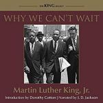 """Dr. King's best-selling account of the civil rights movement in Birmingham during the spring and summer of 1963 On April 16, 1963, as the violent events of the Birmingham campaign unfolded in the city's streets, Dr. Martin Luther King, Jr., composed a letter from his prison cell in response to local religious leaders' criticism of the campaign. The resulting piece of extraordinary protest writing, """"Letter from Birmingham Jail"""", was widely circulated and published in numerous periodicals. After the conclusion of the campaign and the March on Washington for Jobs and Freedom in 1963, King further developed the ideas introduced in the letter in Why We Can't Wait, which tells the story of African-American activism in the spring and summer of 1963. During this time, Birmingham, Alabama, was perhaps the most racially segregated city in the United States, but the campaign launched by King, Fred Shuttlesworth, and others demonstrated to the world the power of nonviolent direct action. Often applauded as King's most incisive and eloquent book, Why We Can't Wait recounts the Birmingham campaign in vivid detail, while underscoring why 1963 was such a crucial year for the civil rights movement. Disappointed by the slow pace of school desegregation and civil rights legislation, King observed that by 1963 - during which the country celebrated the 100th anniversary of the Emancipation Proclamation - Asia and Africa were """"moving with jetlike speed toward gaining political independence but we still creep at a horse-and-buggy pace."""" King examines the history of the civil rights struggle, noting tasks that future generations must accomplish to bring about full equality, and asserts that African Americans have already waited over three centuries for civil rights and that it is time to be proactive: """"For years now, I have heard the word 'Wait!' It rings in the ear of every Negro with piercing familiarity. This 'Wait' has almost always meant 'Never.' We must come to see, with one of our d"""