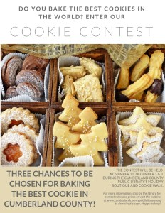 Cookie Contest 2018! @ Cumberland County Public Library
