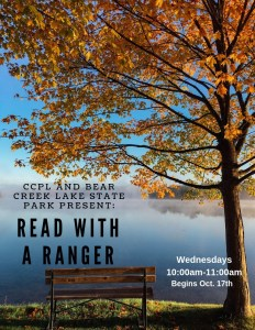 Read with a Ranger! - Story Time @ Cumberland County Public Library
