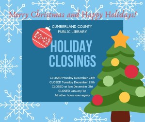 CLOSED: New Year's Day