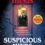 Suspicious Minds: The Offical Stranger Things Novel by Gwenda Bonds