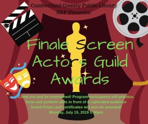 Finale Screen Actors Guild Awards! @ Cumberland County Public Library