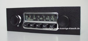 Blaupunkt Frankfurt Radio right for 1970s 911s