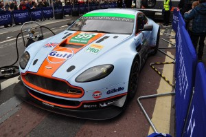 Lovely Gulf liveried Aston