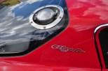 High mounted fuel filler on Bizzarrini 5300 GT Strada