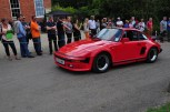 Slant Nose 911 Turbo tops the hill