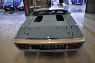 Low roof line of Lotus Europa