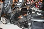 McLaren F1 cockpit & luggage compartment
