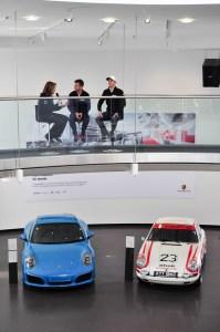 Romain Dumas & Timo Bernhard - Porsche 919 Hybrid drivers