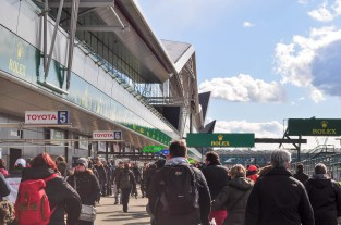The Wing from the International Pit Lane