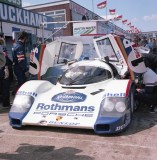 Winning Ickx/Mass 956 - Silverstone 1000kms 1984