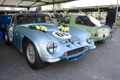 1965 TVR Griffith 400 (blue) and 1965 TVR Griffith 200 (green)