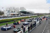 Starting grid for the Surtees Trophy race