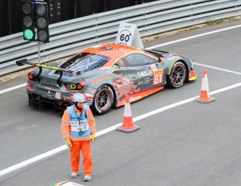 Clearwater Racing Ferrari 488 GTE