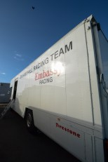 Graham His Embassy Racing Team Van