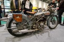Handsome Brough Superior motorcycle