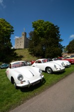 356's lining the driveway up to the castle keep