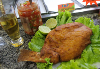 Filé de Pescada do Bar do Tio (Bar do Rafa) no Mercadão de Campinas | Cumbuca Bares e Botecos de Campinas