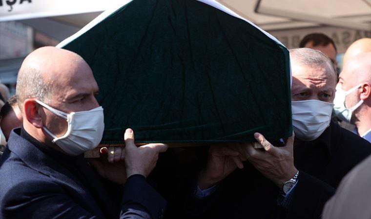 Süleyman Soylu'nun annesinin cenazesi toprağa verildi