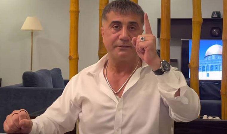 AA muhabirinin Süleyman Soylu sorusuna Sedat Peker'den ilk tepki