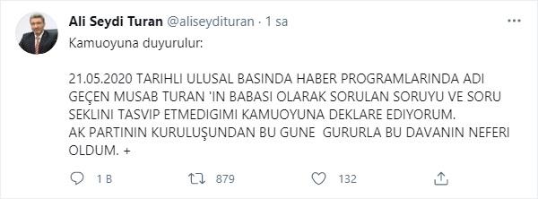 Musab Turan'ın babası Ali Seydi Turan: Tasvip etmiyorum 14