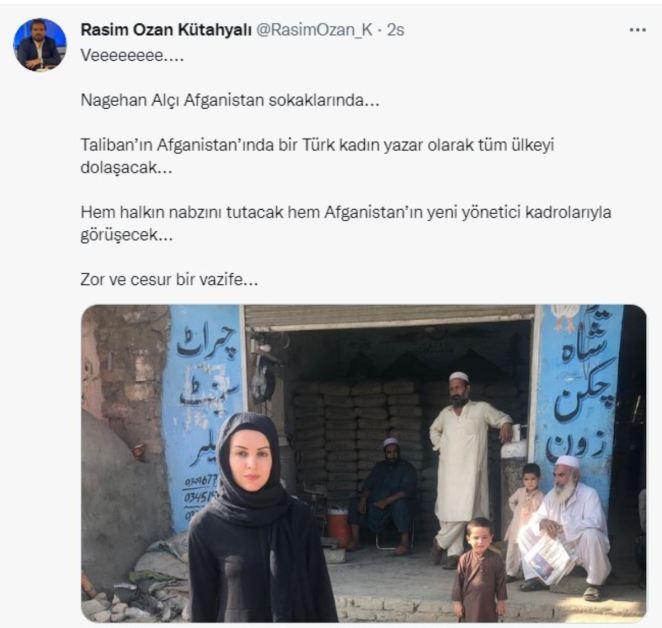 Nagehan Alçı, Afganistan'a gitti 15
