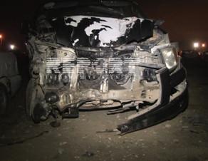 Tovuzda yol qəzası nəticəsində iki nəfər yaralanıb