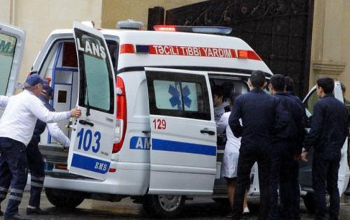 Paytaxtda qəza: 2 qadın kəllə-beyin travması aldı