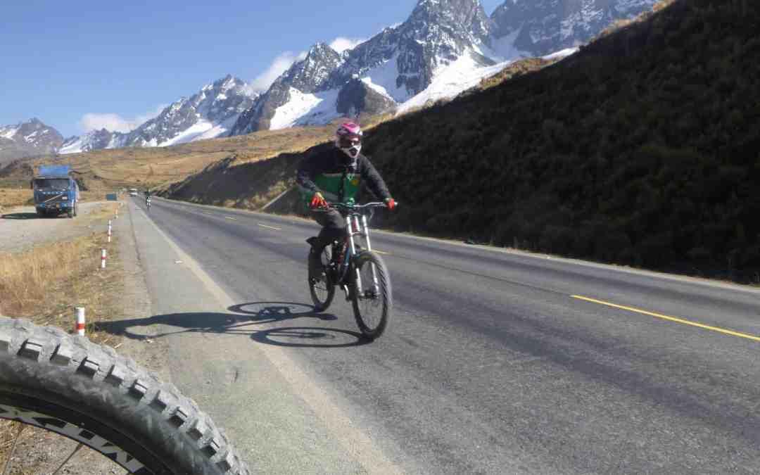 Death Road Bike Ride in Bolivia