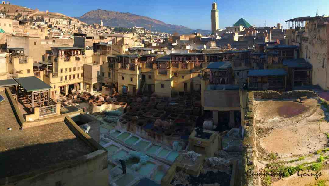 The tannery of Fes