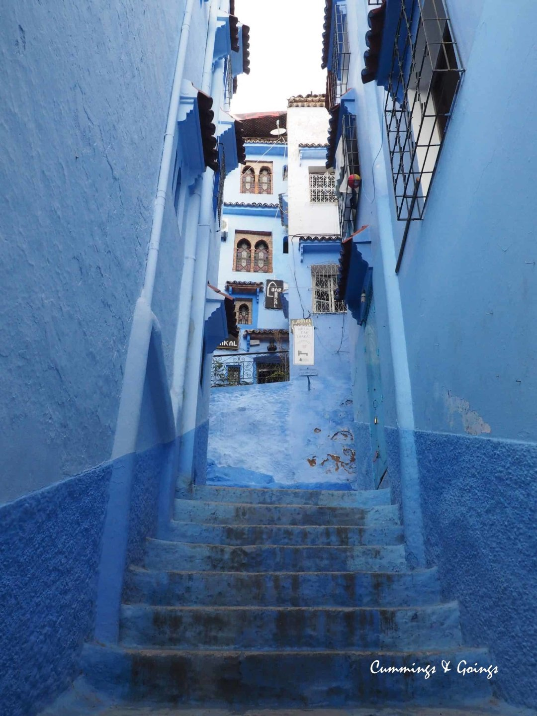 The Blue streets of Chefchaoen