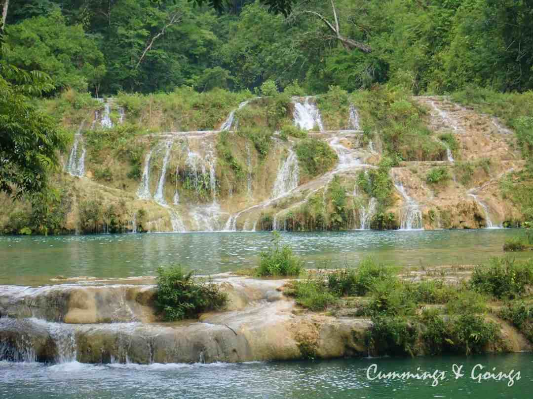 waterfalls at Semuc Champey