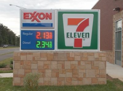 7-Eleven Exxon Monument