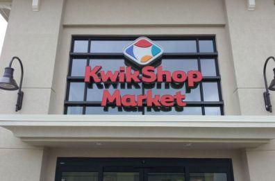 KwikShop Channel letters