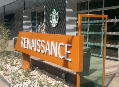 Renaissance Custom Ribbon Sign 2