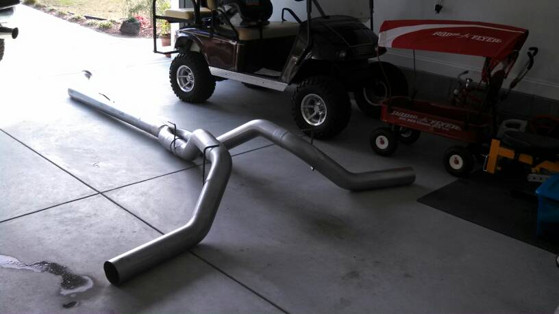 flow pro 5 inch dual exhaust kit