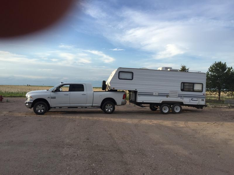 Toolbox Tonneau Cover Combo With 5th Wheel Dodge