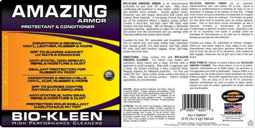 Cummins Label - Amazing Armor label