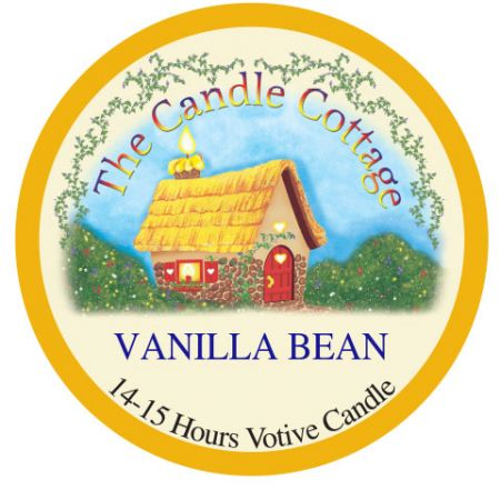 Cummins Label - Candle Cottage label