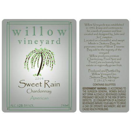 Cummins Label - wine label