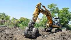 În Cumpăna sunt montate tuburi îngropate pentru colectarea apelor pluviale. FOTO Primăria Cumpăna