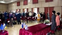 Ceremonia de învestire a Marianei Gâju ca primar al comunei Cumpăna. FOTO Paul Alexe