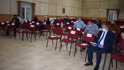 Ședința de alegere a viceprimarului comunei Cumpăna. FOTO Primăria Cumpăna