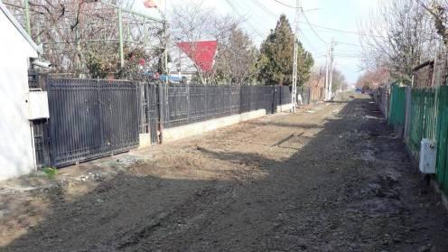 Străzi asfaltate în Cumpăna. FOTO Cumpăna News